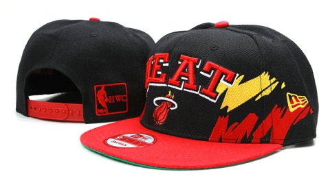 Miami Heat NBA Snapback Hat YS111